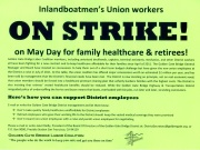 May Day STRIKE